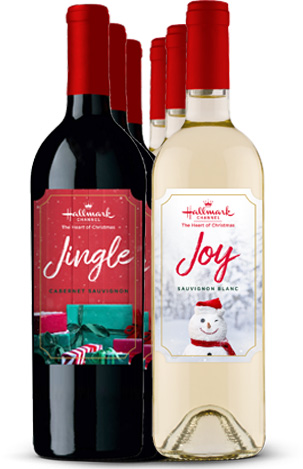 Jingle Red and Joy White Mixed 6 Bottle Pack