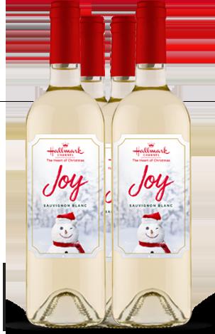 Sauvignon Blanc Joy White Wine 4 Bottle Pack