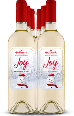 Sauvignon Blanc Joy White Wine 6 Bottle Pack