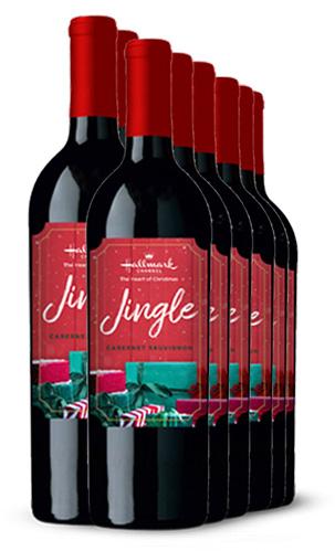 Cabernet Sauvignon Jingle Red Wine 12 Bottle Case