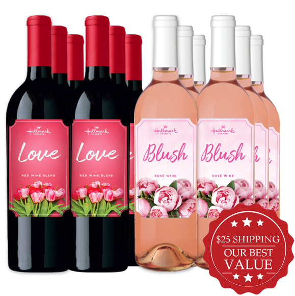 Love & Blush 12 Bottle pack