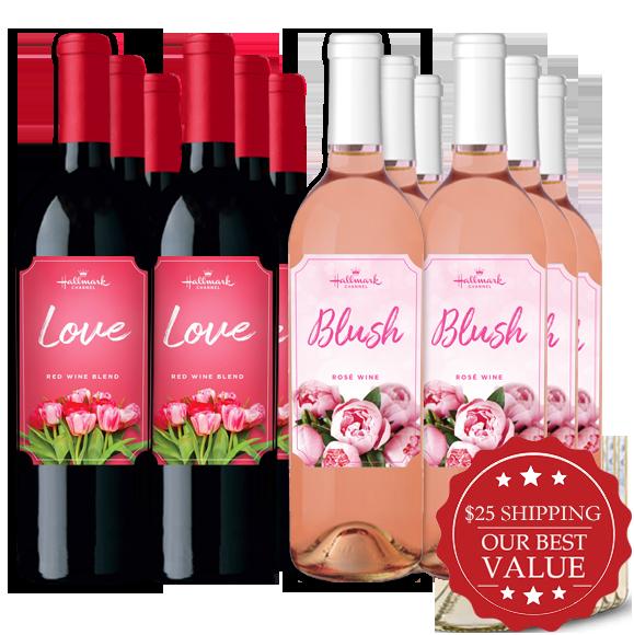 Love & Blush 12 Bottle pack