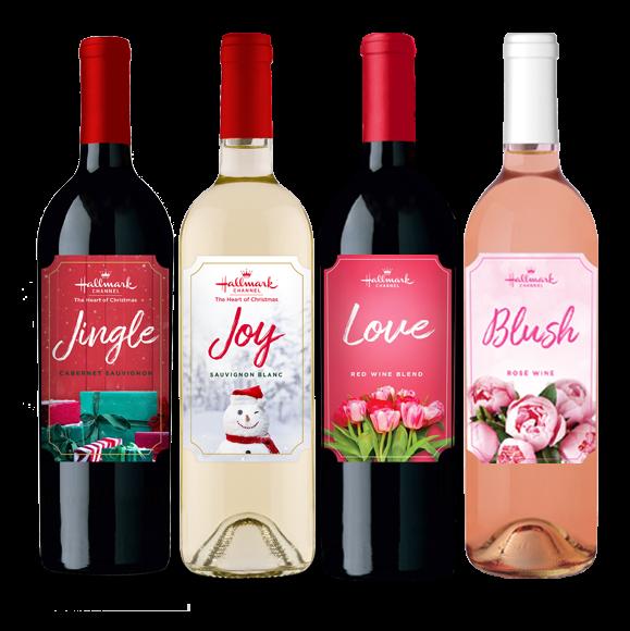Jingle, Joy, Love & Blush 4 Bottle Pack